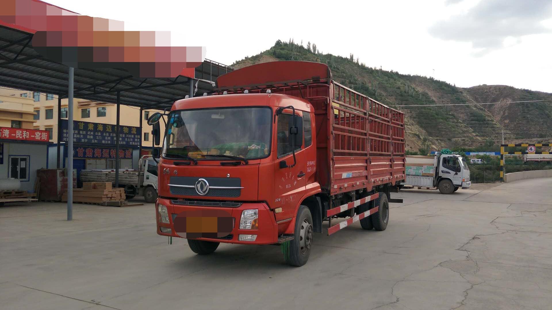 东风天锦 载货车  170匹 2012年06月 4x2