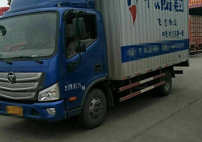 福田欧曼其他车系 载货车  140匹 2017年05月 4x2