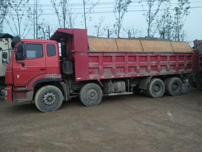 中国重汽豪瀚 自卸车  300匹 2013年10月 8x4