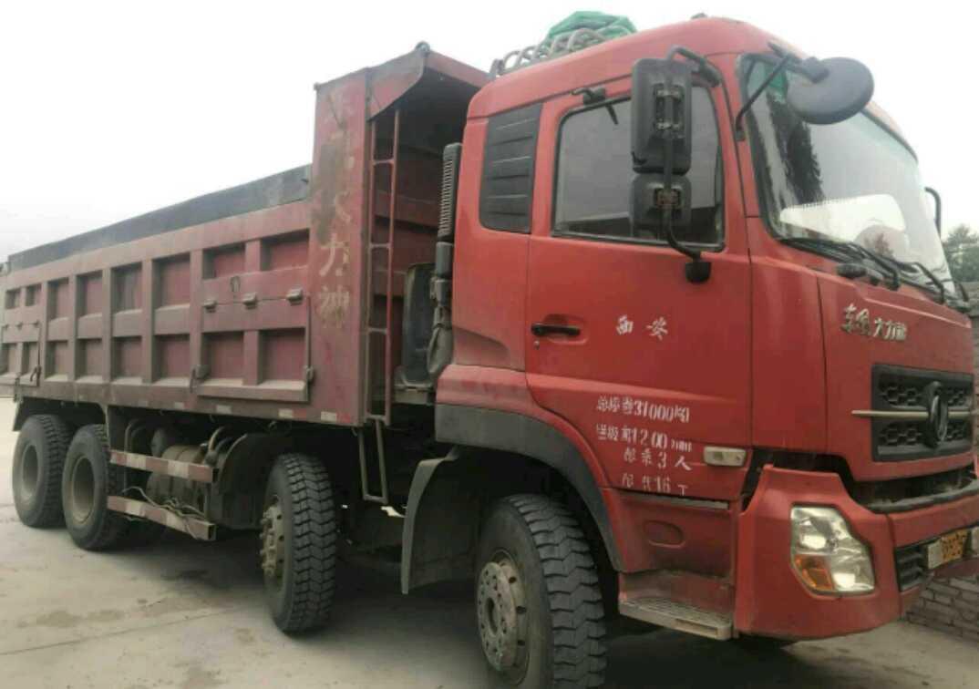 东风大力神 自卸车  290匹 2011年08月 8x4