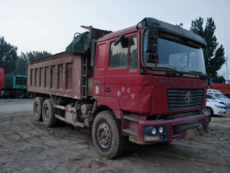 陕汽德龙F2000 自卸车  310匹 2010年10月 6x4