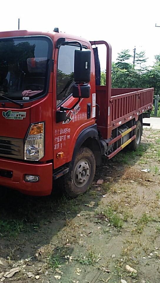 中国重汽王牌 载货车  130匹 2018年05月 4x2