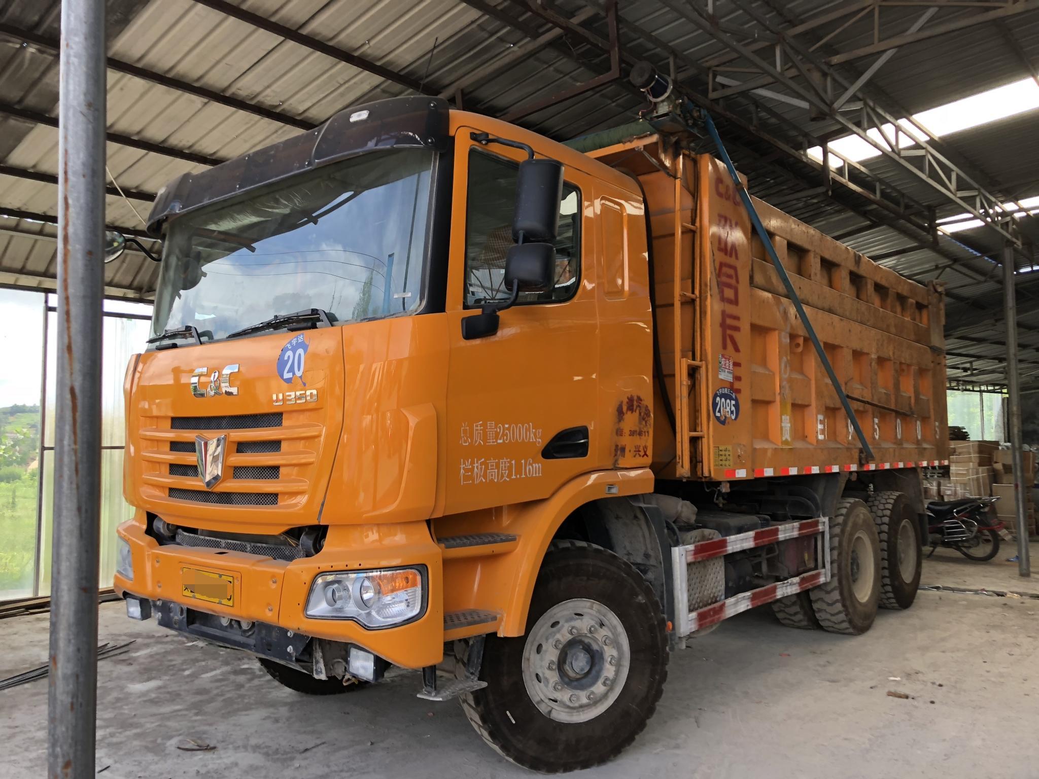联合卡车U系 自卸车  350匹 2017年06月 6x4