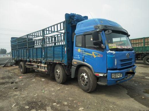 青岛解放悍V 载货车  260匹 2009年12月 6x2