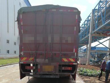 青岛解放新大威 载货车  260匹 2012年11月 8x4