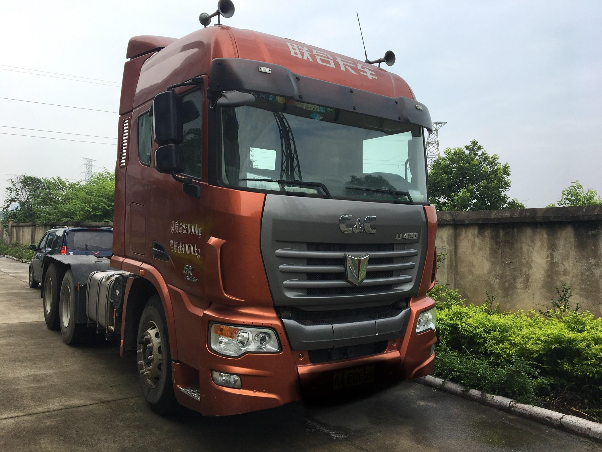 联合卡车其他车系 牵引车  420匹 2014年05月 6x4