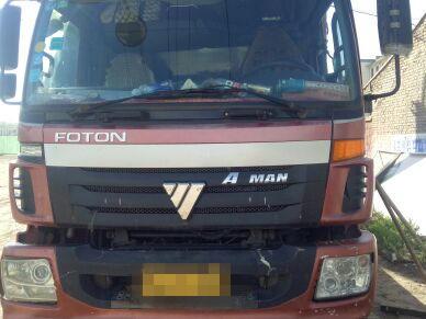 福田欧曼其他车系 载货车  260匹 2012年06月 8x4