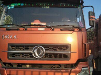 东风天龙 载货车  315匹 2010年11月 8x4