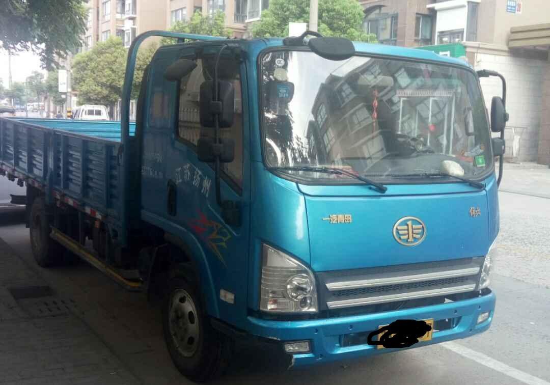 青岛解放其他车系 载货车  130匹 2014年02月 4x2