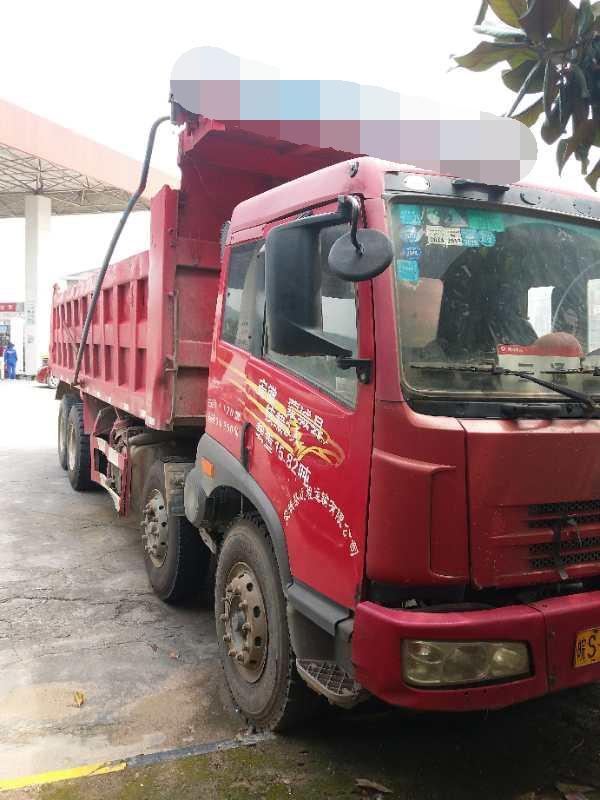 一汽解放奥威J5P 自卸车  280匹 2011年10月 8x4