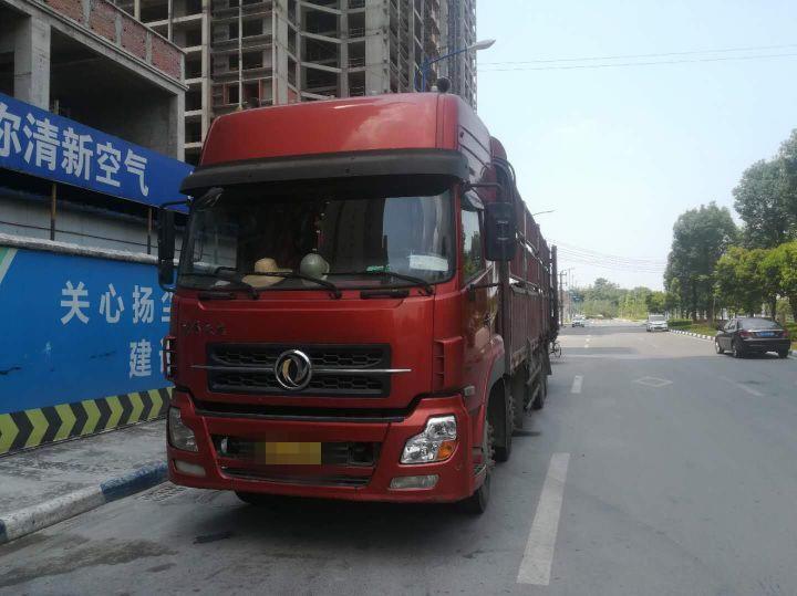 东风天龙 载货车  315匹 2009年08月 8x4