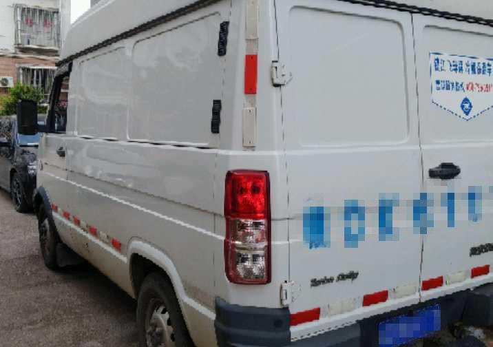 依维柯其他车系 冷藏车  130匹 2016年04月 4x2