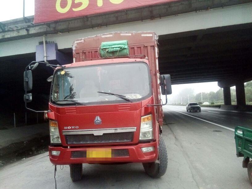 中国重汽HOWO 载货车  140匹 2014年03月 4x2