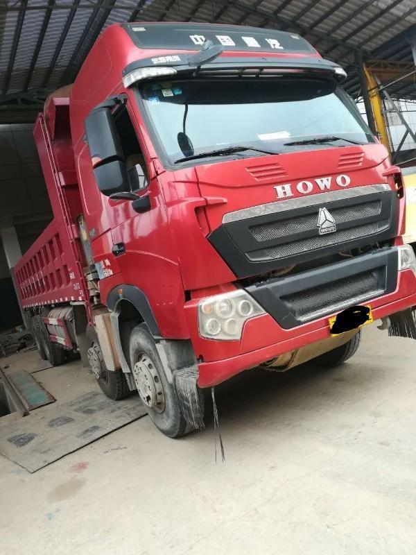 中国重汽HOWO T7H重卡 自卸车  440匹 2015年05月 8x4