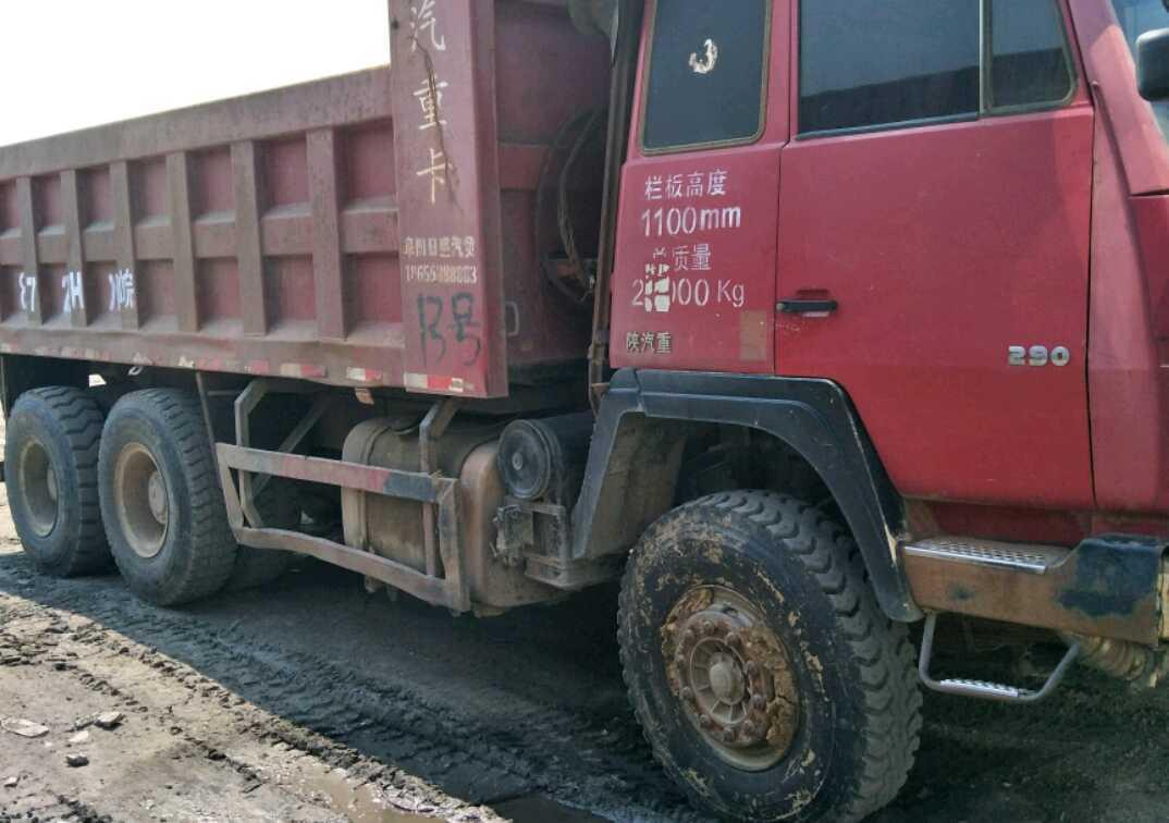 陕汽奥龙 自卸车  290匹 2012年07月 6x4