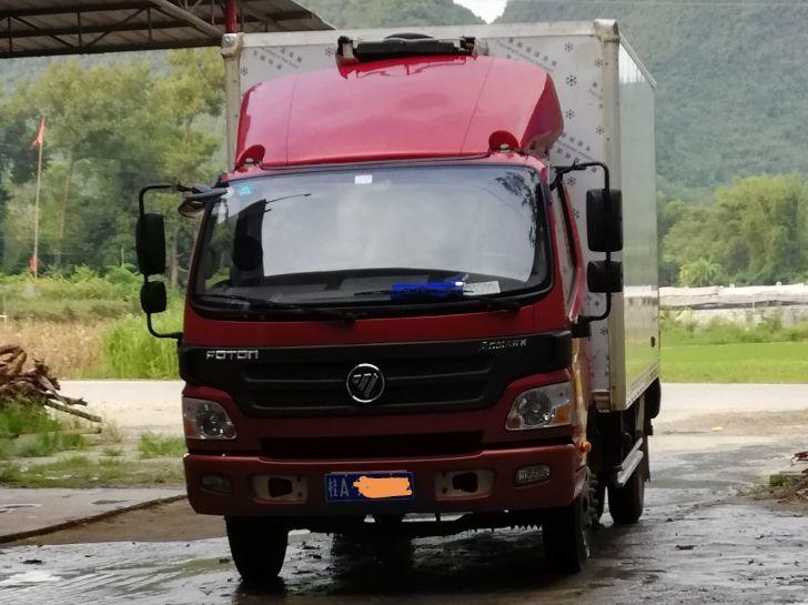 福田欧曼其他车系 载货车  150匹 2015年12月 4x2