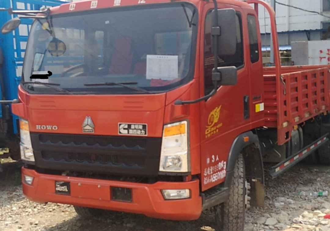 中国重汽HOWO 载货车  156匹 2016年04月 4x2