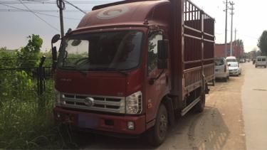时代康瑞 载货车  170匹 2018年04月 4x2