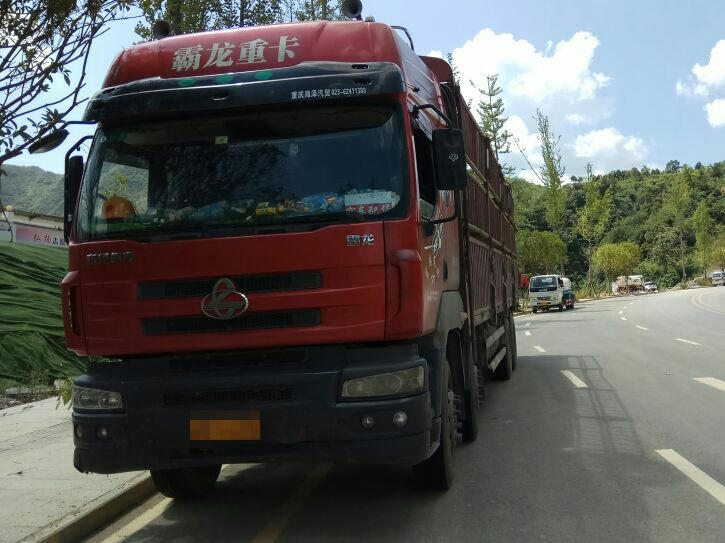 东风霸龙 载货车  290匹 2013年10月 8x4