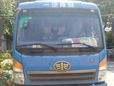 青岛解放其他车系 载货车  160匹 2014年05月 4x2