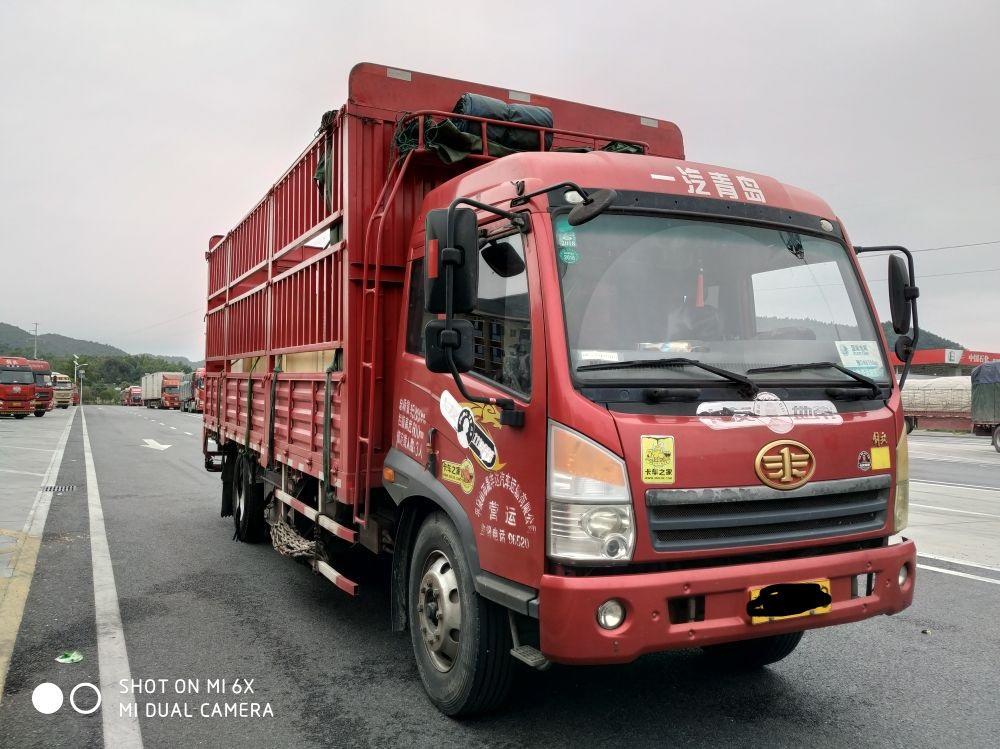 青岛解放其他车系 载货车  160匹 2013年08月 4x2