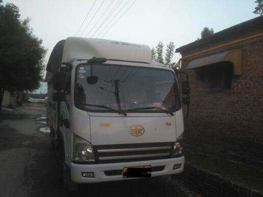 青岛解放其他车系 载货车  135匹 2014年07月 4x2