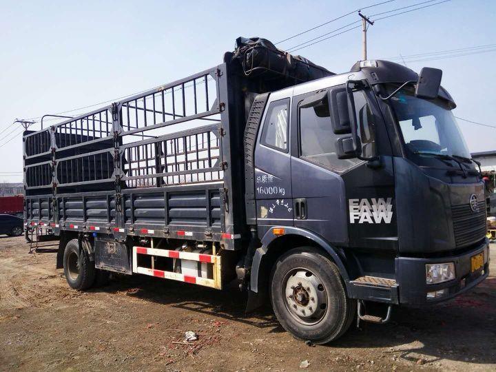 一汽解放J6 载货车  164匹 2014年06月 4x2