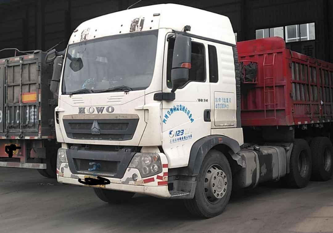 中国重汽HOWO 牵引车  340匹 2014年02月 6x4