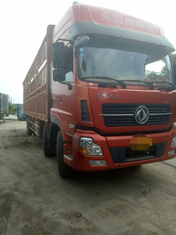 东风天龙 载货车  220匹 2014年09月 6x2