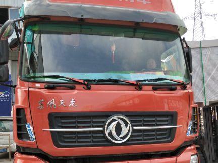 东风天龙 载货车  350匹 2016年05月 8x4