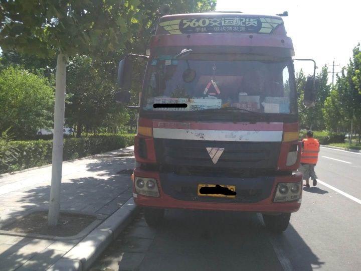 福田欧曼其他车系 载货车  220匹 2011年08月 6x2