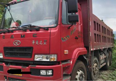 华菱华菱之星 自卸车  270匹 2016年06月 8x4