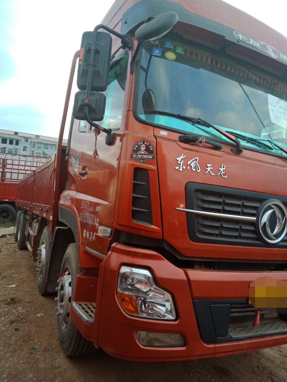 东风天龙 载货车  350匹 2016年08月 8x4