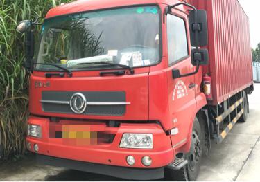 东风天锦 载货车  160匹 2017年06月 4x2