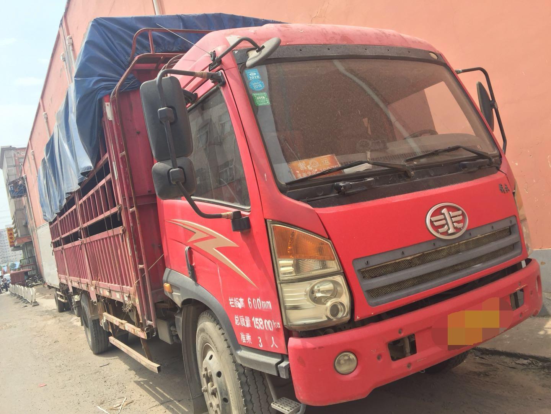 一汽解放J6 载货车  160匹 2012年08月 4x2