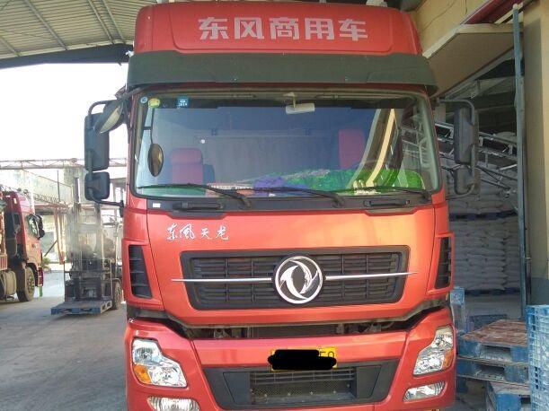 东风天龙 载货车  315匹 2016年01月 8x4