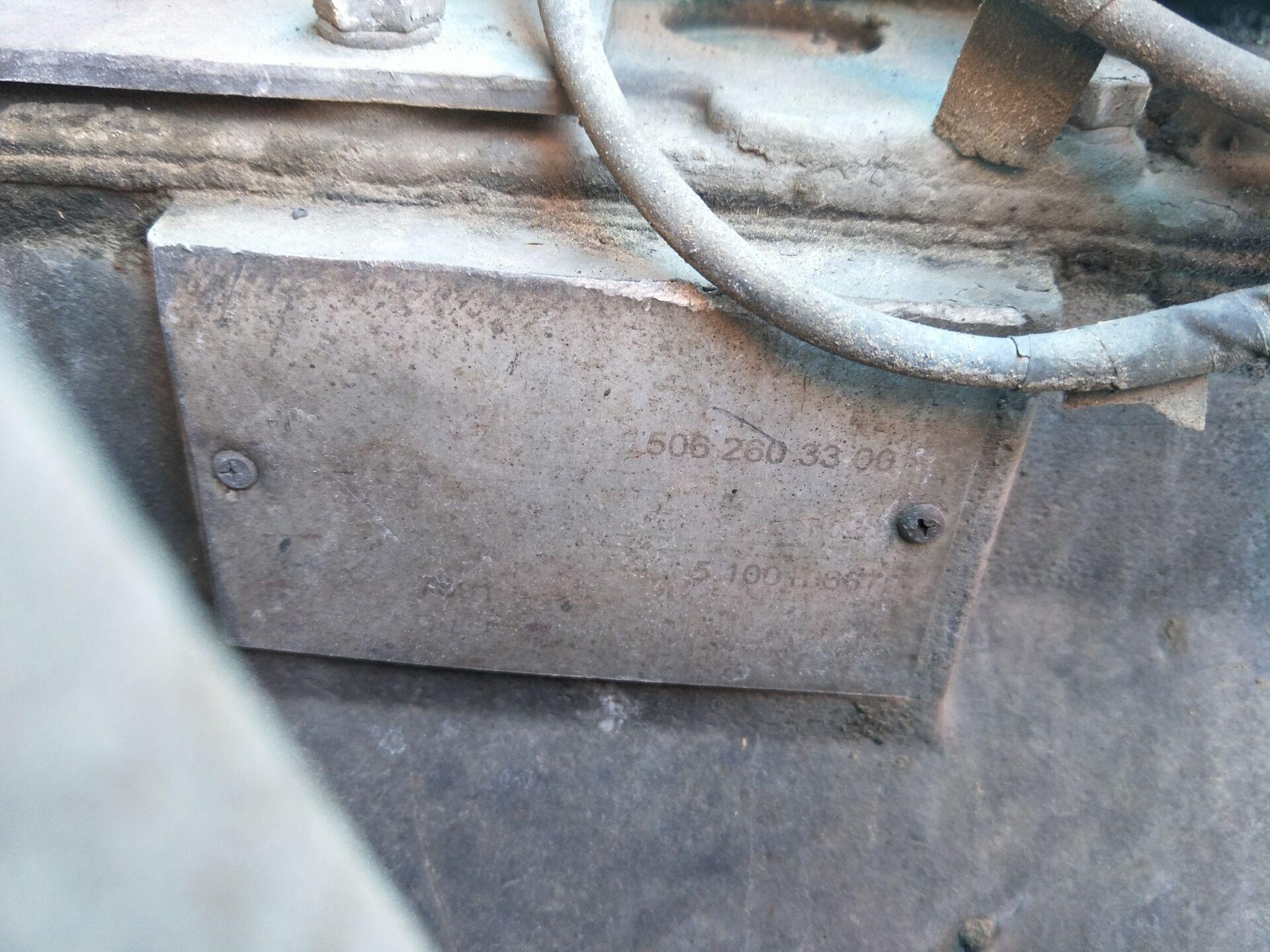 北奔NG80系列 牵引车  340匹 2010年02月 6x4