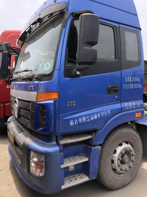 福田歐曼ETX 牽引車  375匹 2017年06月 6x4