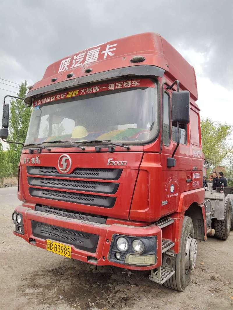 陕汽德龙F3000 牵引车  380匹 2013年05月 6x4