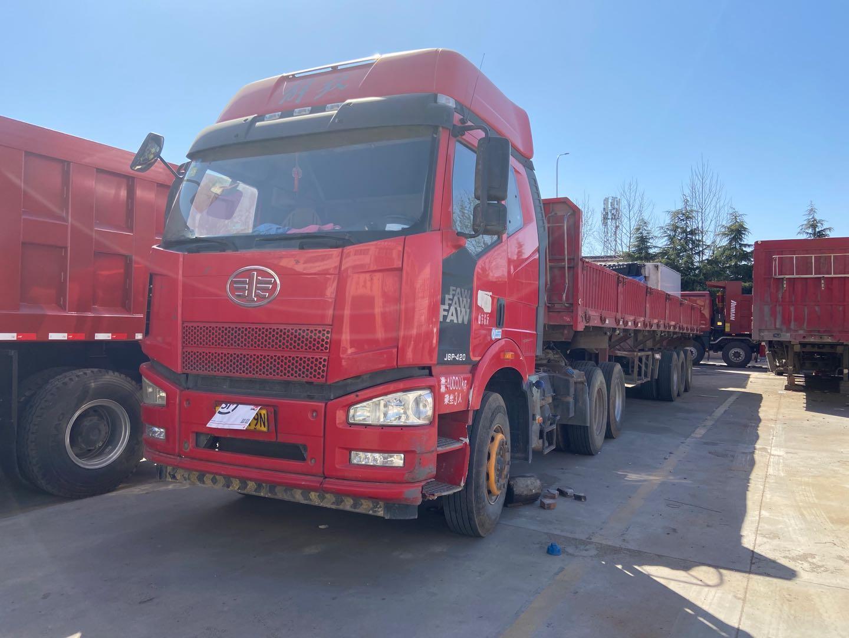 一汽解放J6P重卡 牽引車  430匹 2018年05月 6x4