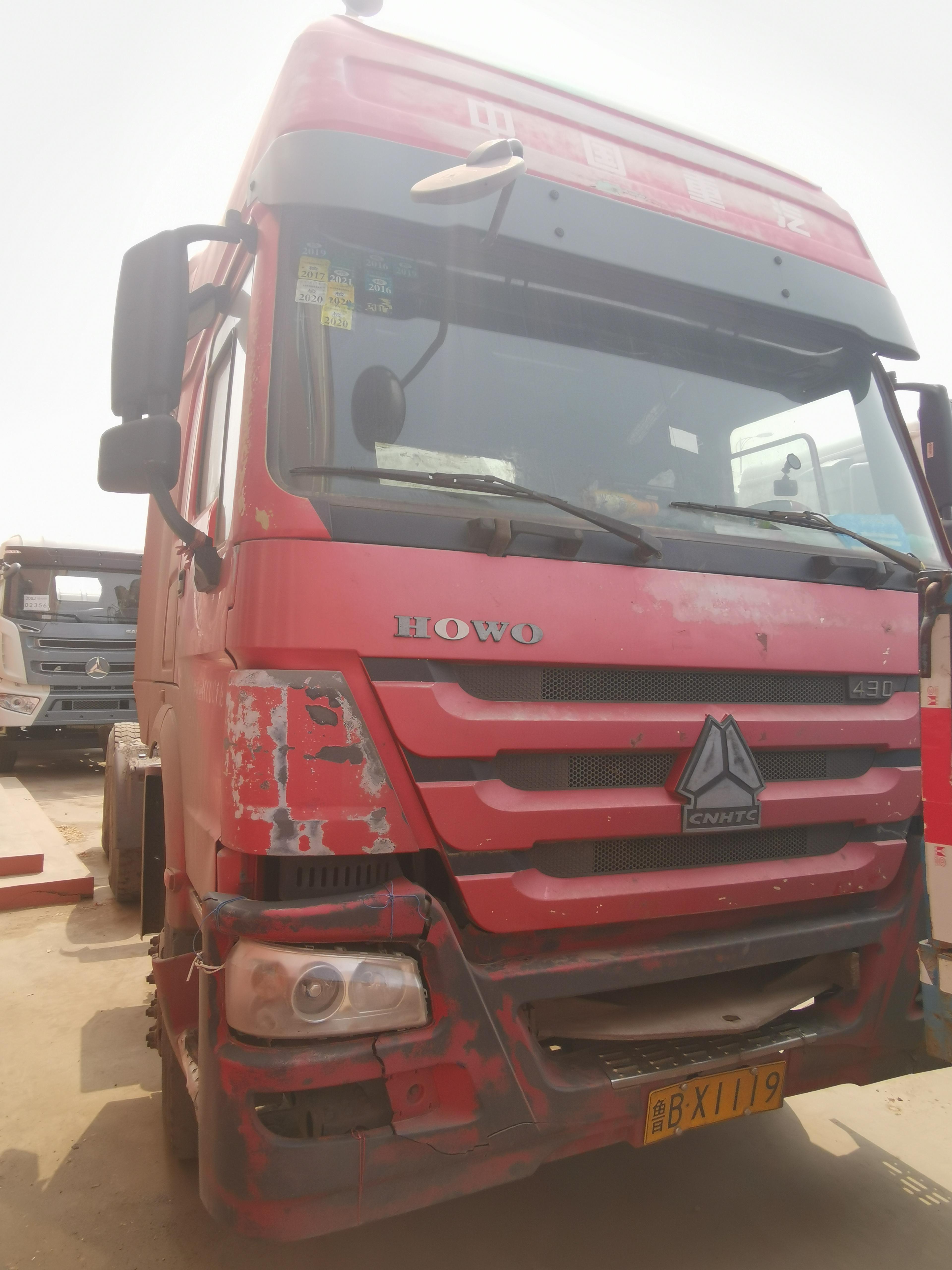 中國重汽HOWO 牽引車  430匹 2011年02月 6x4