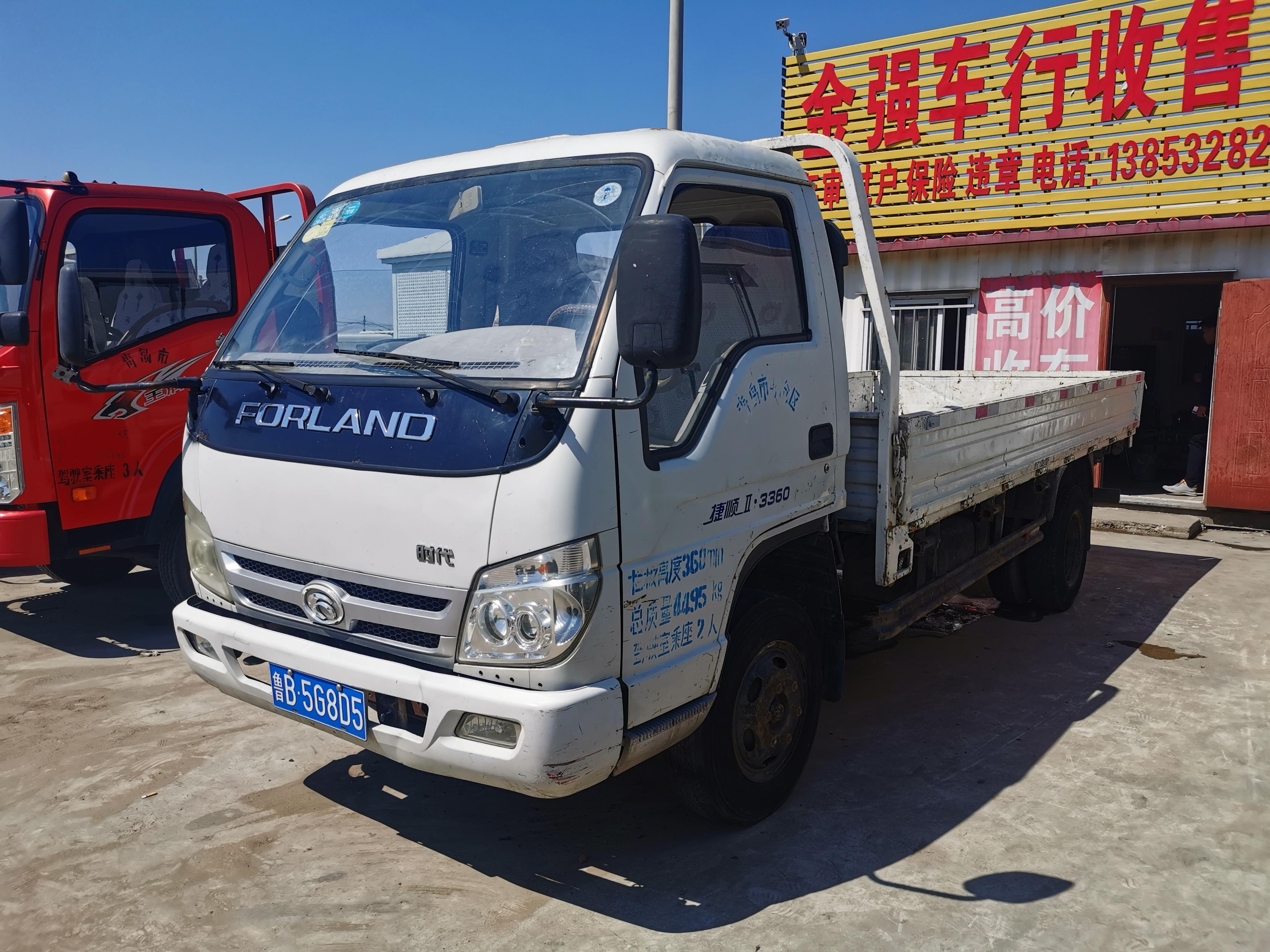 北汽福田其他車系 載貨車  103匹 2013年06月 4x2