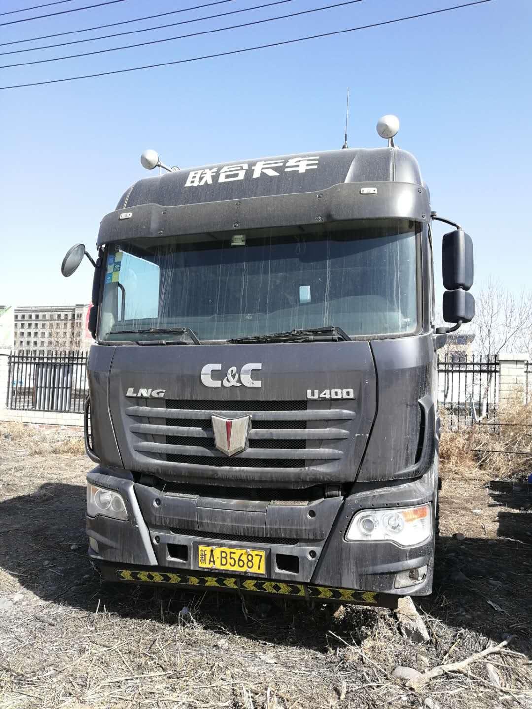 联合卡车U系 牵引车  400匹 2016年12月 6x4