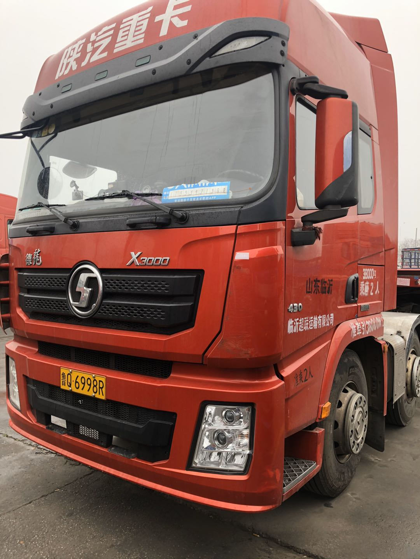 陜汽德龍X3000 牽引車  430匹 2019年01月 6x4