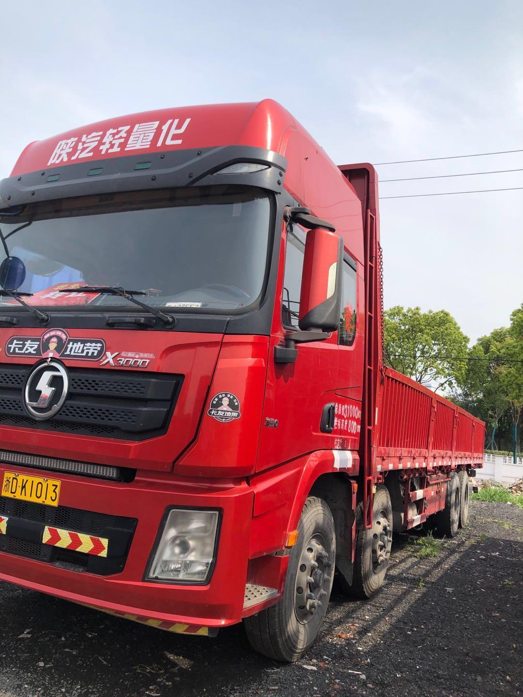 陕汽德龙X3000 载货车  350匹 2017年10月 8x4