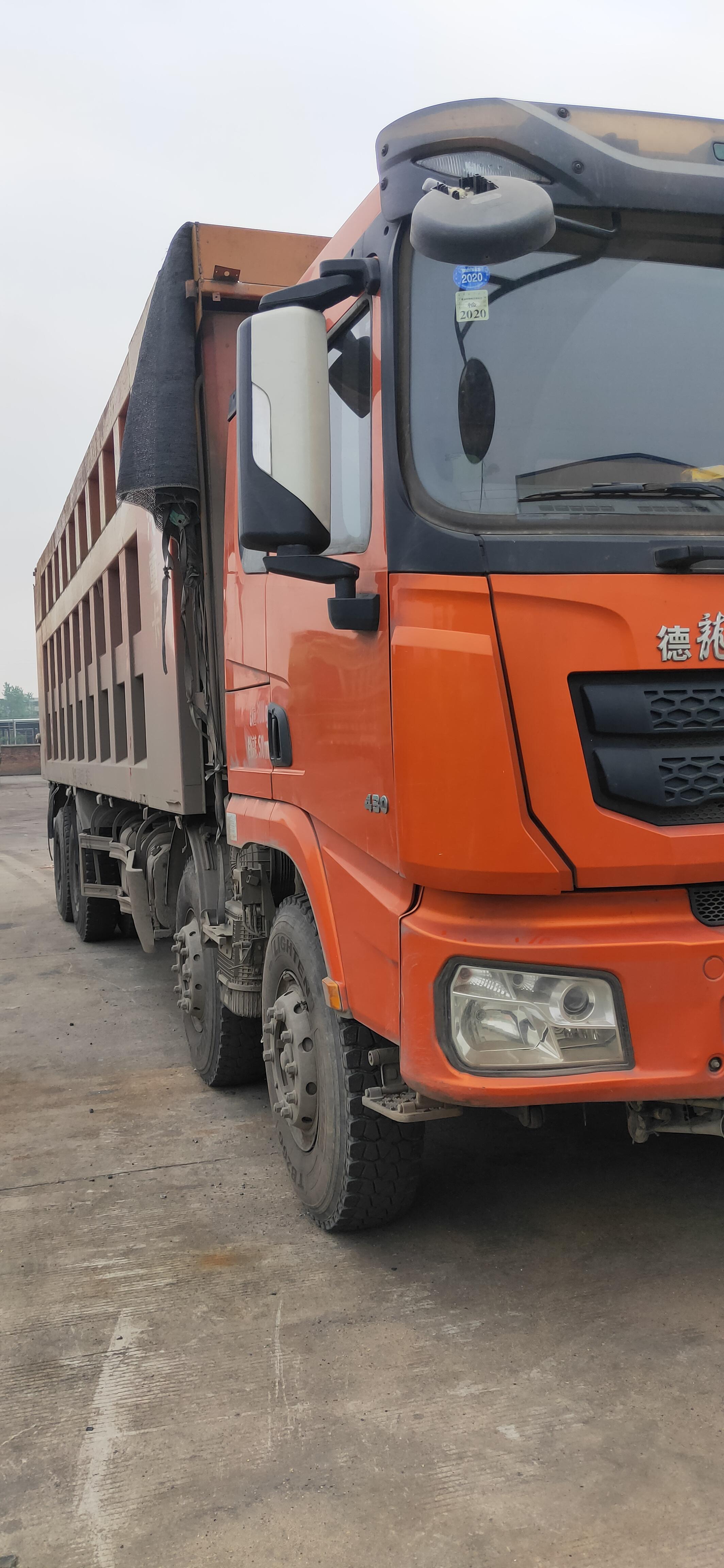 陜汽德龍X3000 自卸車  430匹 2019年11月 8x4