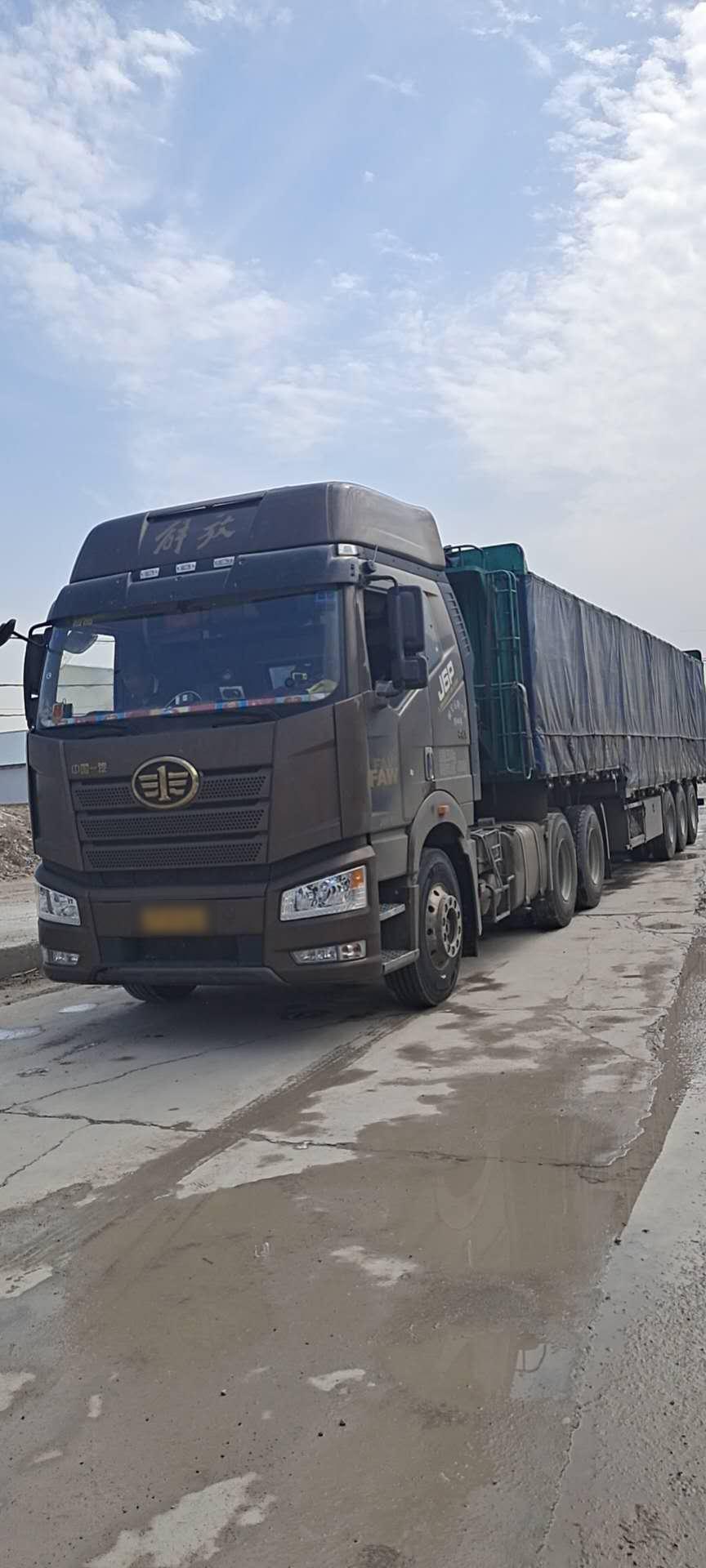 一汽解放J6P重卡 牵引车  550匹 2019年07月 6x4