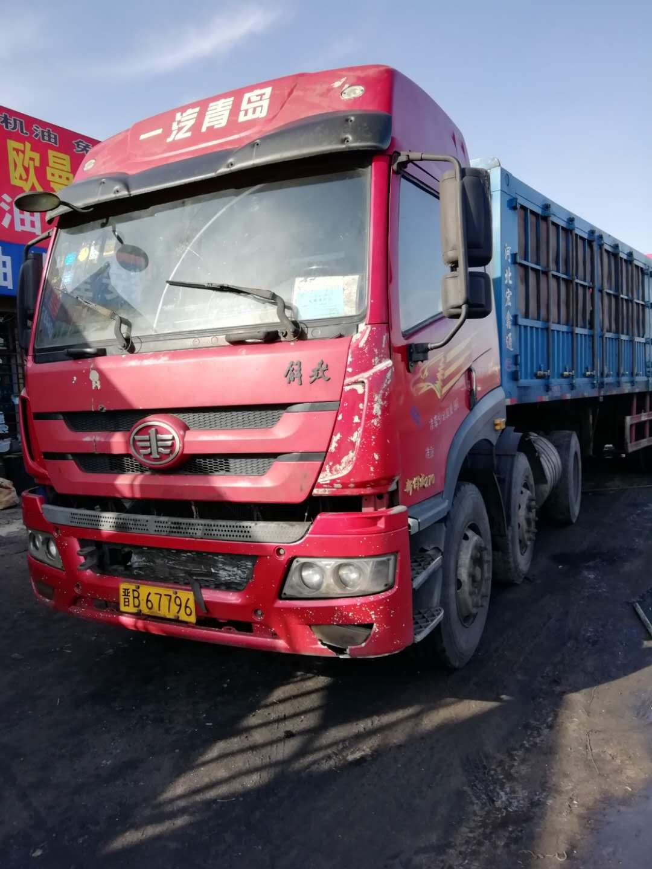 青島解放新悍威 牽引車  270匹 2011年12月 6x2