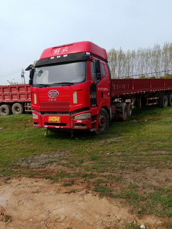 一汽解放J6P重卡 牽引車  430匹 2014年04月 6x4