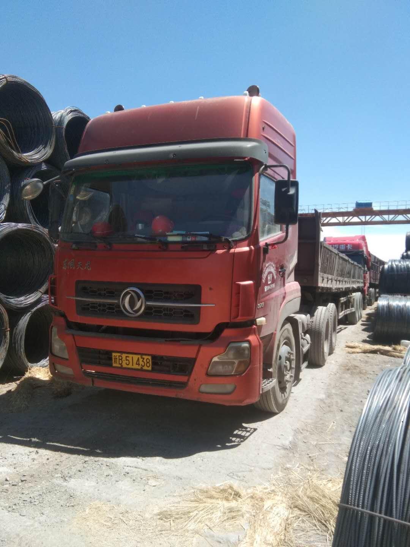 东风天龙 牵引车  375匹 2011年08月 6x4